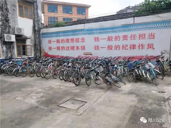 广西一男子3年偷了100多辆自行车回家 供其小孩使用