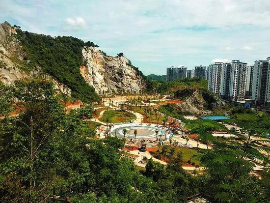 年底开放!南宁这座废弃矿山将蜕变成生态休闲公园