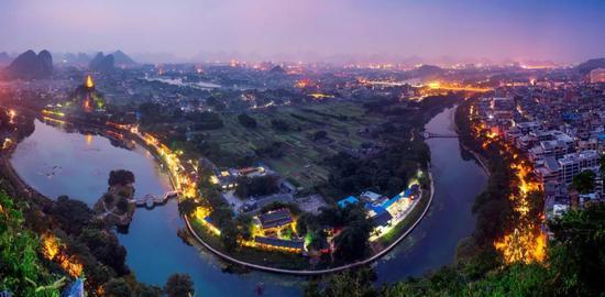 桂林全貌(夜景)