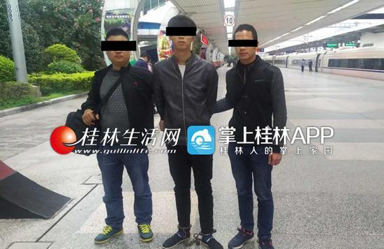 叠彩警方跨省抓捕,将犯罪嫌疑人带回桂林