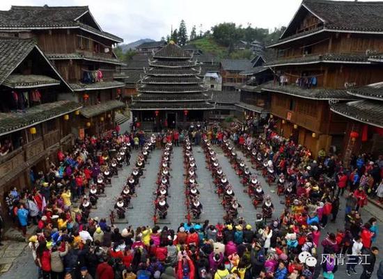 走进三江侗寨,体验一把侗族风情