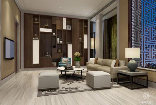 这就要找中式风格别墅设计专家,深圳一心设计公司融合古今元素,在传承