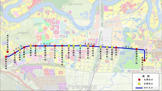 BRT 二号线线路图曝光 经过你家吗图片