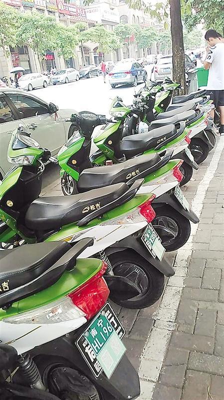南宁共享电动自行车少人问津 交通运输部不鼓励