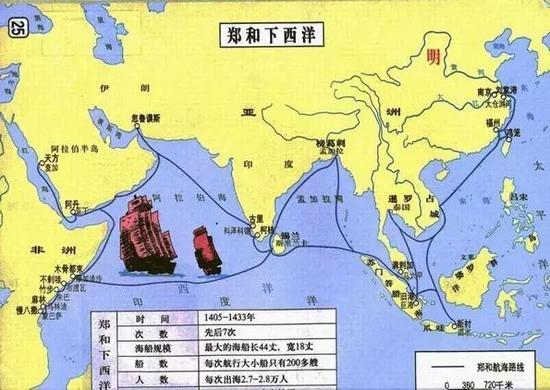 卡通旅行线路图