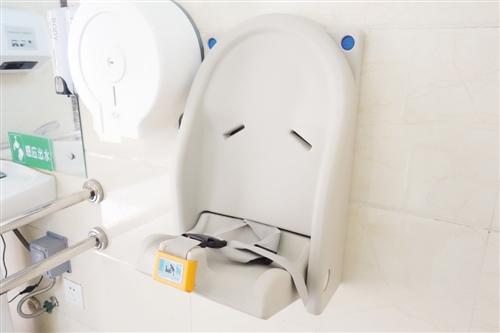 母婴洗手间设有婴幼设施
