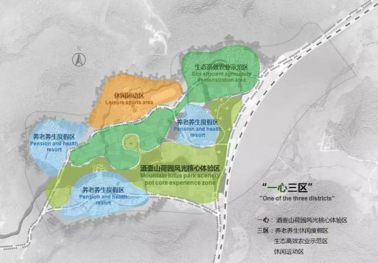 4、莲花小镇项目建设强调多重旅游深度体验。