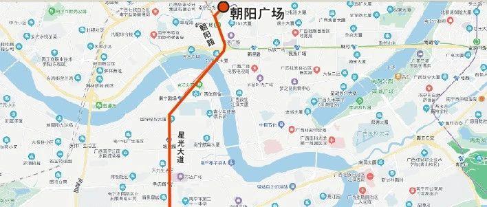 南宁将新增一条夜间公交专线 朝阳广场始发可预约包车