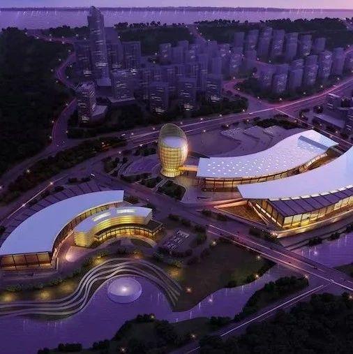 柳州国际会展中心二期迎来重大节点 未来将建成这样