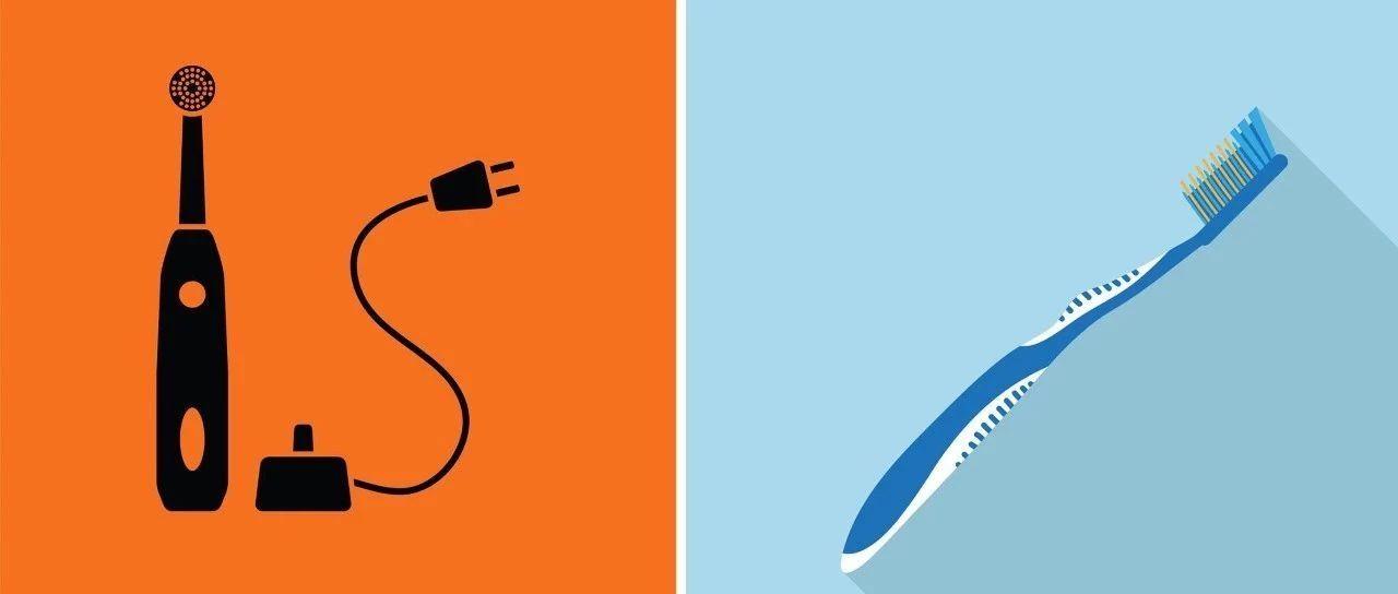 电动牙刷和普通牙刷哪个好?这3类人最好别用电动的