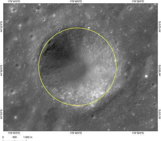 图4天津坑影像图