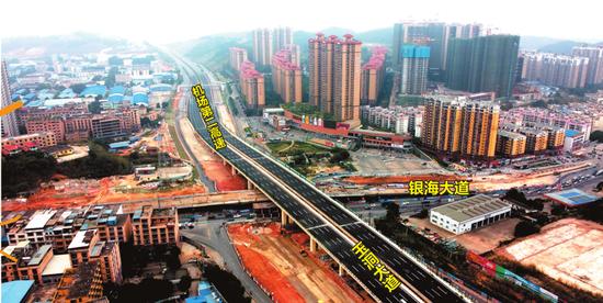 南宁吴圩机场第二高速公路二期通车 市区去机场再提速