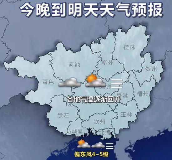 2月1日20时-2日20时天气预报示意图
