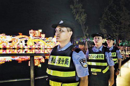 南宁警方:确保市民度过一个平安、有序的中秋佳节
