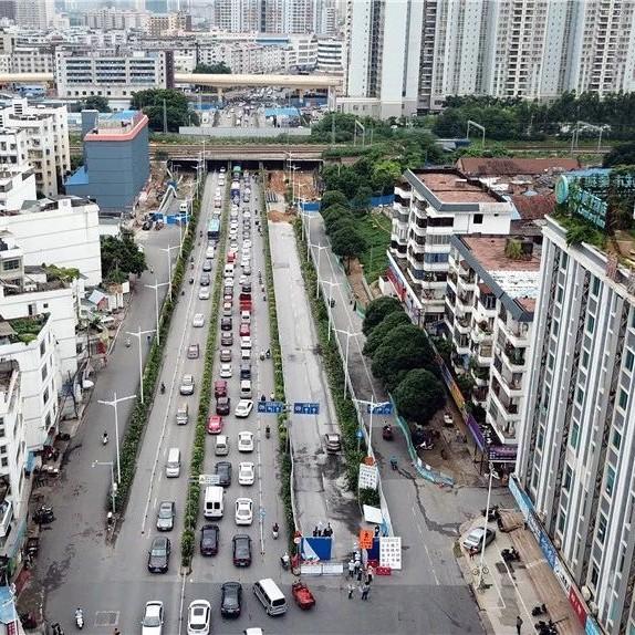 南宁两条道路将要封闭施工 其中一条工期长达405天