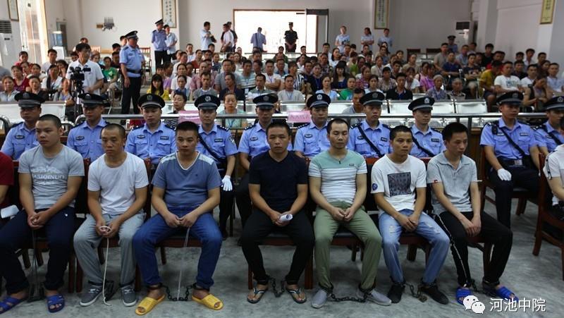 涉毒100余吨、被告20人 广西有史以来最大制毒案开庭