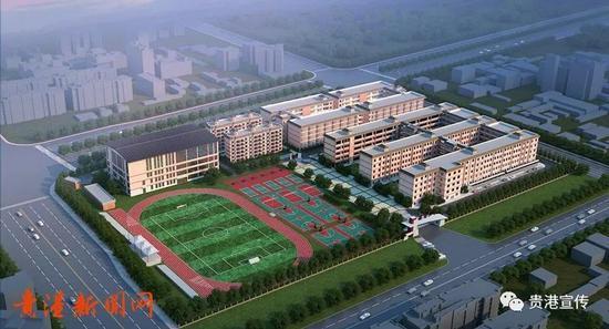 期待!贵港正新建一所中学!大型高标准现代化