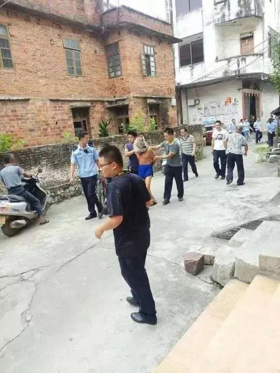 ▲马某被公安机关抓获(图片来源于网络)