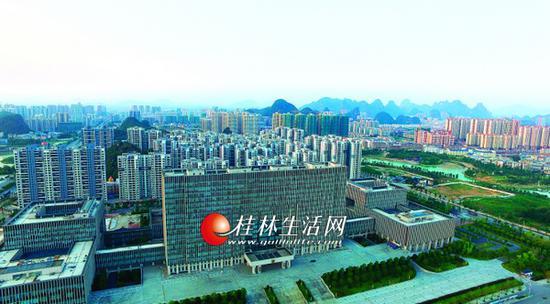 以后桂林要向这个方向拓展 再造一个新桂林(图)