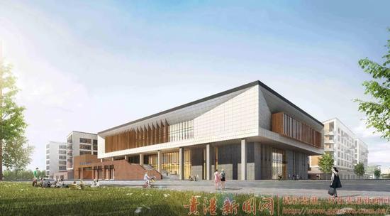 ▲广西工业学院食堂