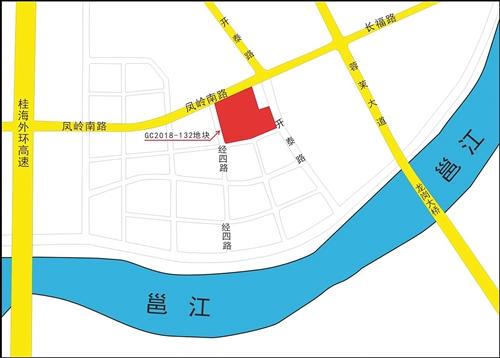 GC2018-132地块位置示意图