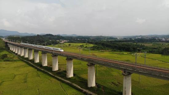 增开南宁至香港直通动车