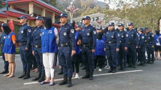涉案1400余起!广西警方赴越南捣毁犯罪窝点 抓21人