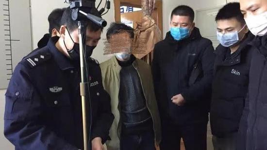 身负两条人命的郑某终落网。图据福建南平浦城县公安局