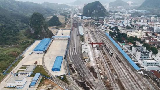 广西这个铁路口岸通关模式有大变化!效率大幅提升