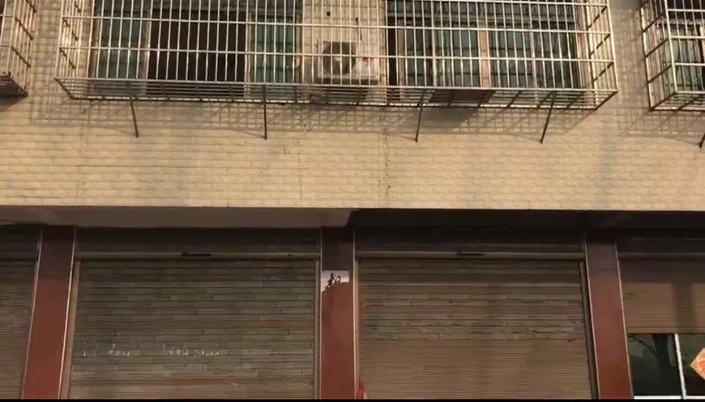 ▲吴林(化名)家,二楼为案发现场。新京报记者王昆鹏摄