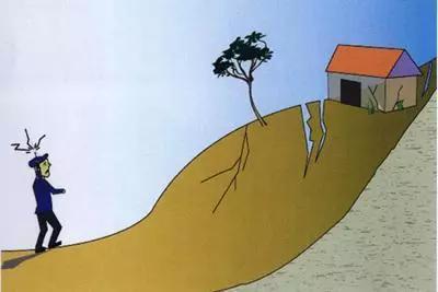 如何防范崩塌和滑坡?地质灾害发生有前兆