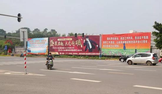 贵港城区此路口存交通安全隐患 交警部门回应