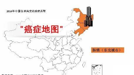 最新中国癌症地图公布!某些区域癌症高发是有原因的