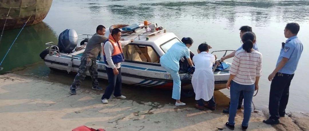 七旬老人不慎失足落水 来宾海事部门紧急救援
