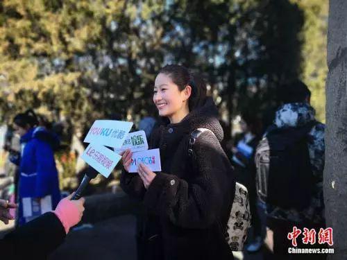 图为北京电影学院考生彭一丹。袁秀月 摄