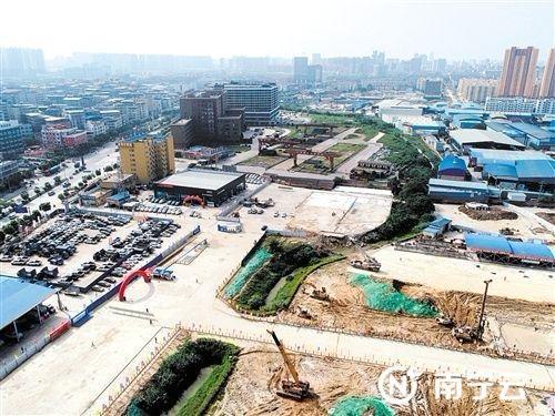 """南宁朝阳溪实施最后""""手术"""" 上游将变成生态公园"""