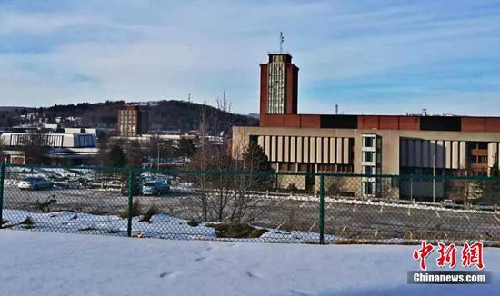 图为美国纽约州立大学宾汉顿分校 受访者供图