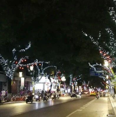 留心夜晚的桂林!这些路悄悄变了成了童话里的样子