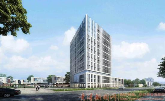 ▲广西工业学院图书馆