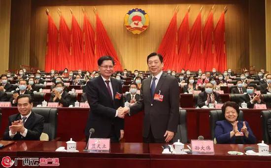 权威发布!孙大伟当选广西壮族自治区政协主席