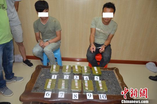 广西崇左警方破获一起特大毒品案 缴获毒品海洛因7斤
