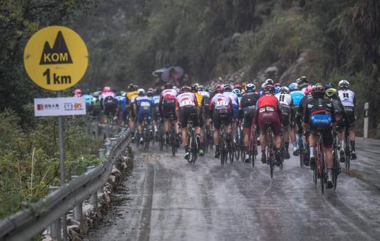 2019环广西公路自行车世界巡回赛桂林赛段交通管制通告
