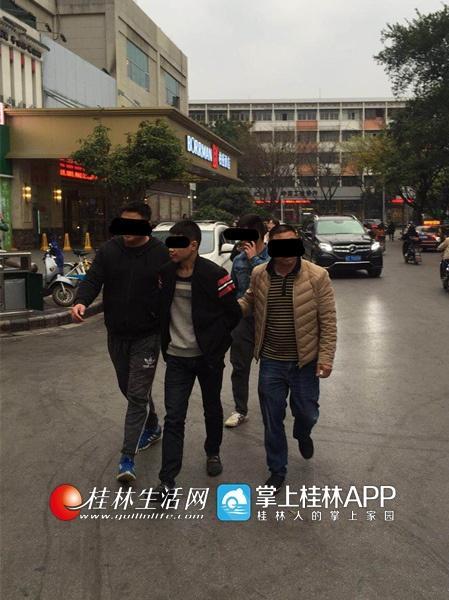 秀峰警方将嫌疑人抓获