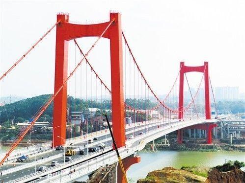 良庆大桥是凤岭片区与五象新区之间的跨江通道