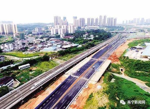 已经建成通车的快速路东段