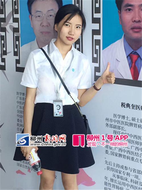 针灸也有急救法!柳州美女研究生用白色抢救患中医恤美女t图片