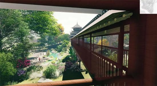 玻璃风雨连廊-美出新天际 第十二届中国 南宁 国际园博会抢鲜看