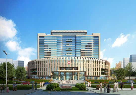 广西国际壮医医院(效果图)