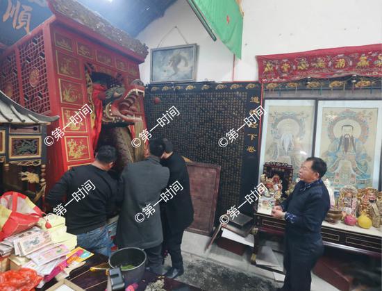 漓江九娘庙请龙头正月游龙头 2018龙舟大赛启动