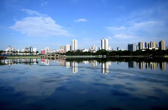 """""""绿色气质""""提升城市颜值!南宁打造中国绿城升级版"""